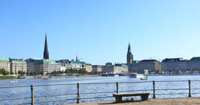 Shopping and Eating in Hamburg