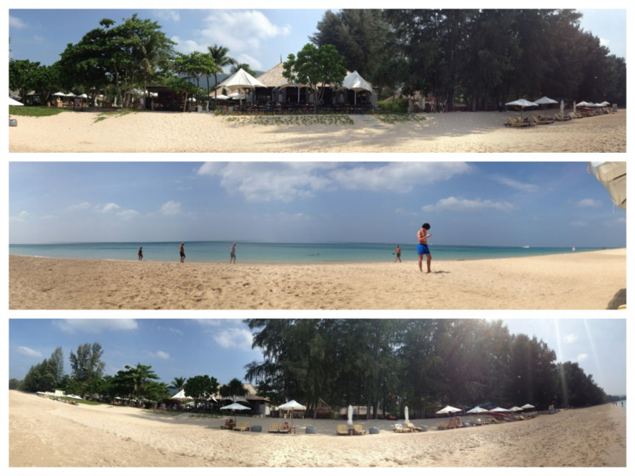 The Layana Beach panorama
