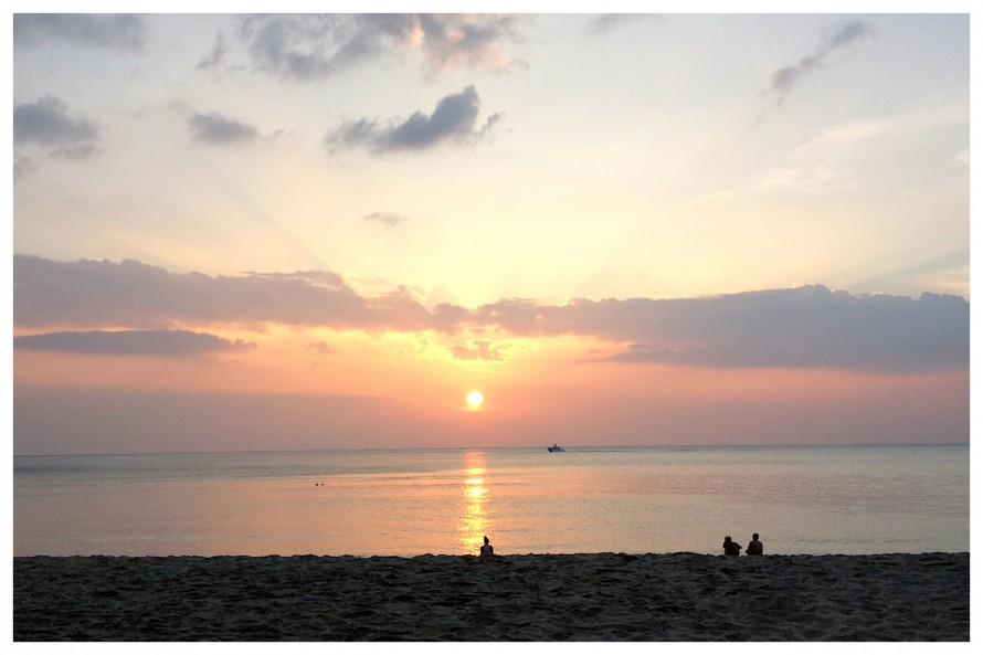 The Sunset on Koh Lanta