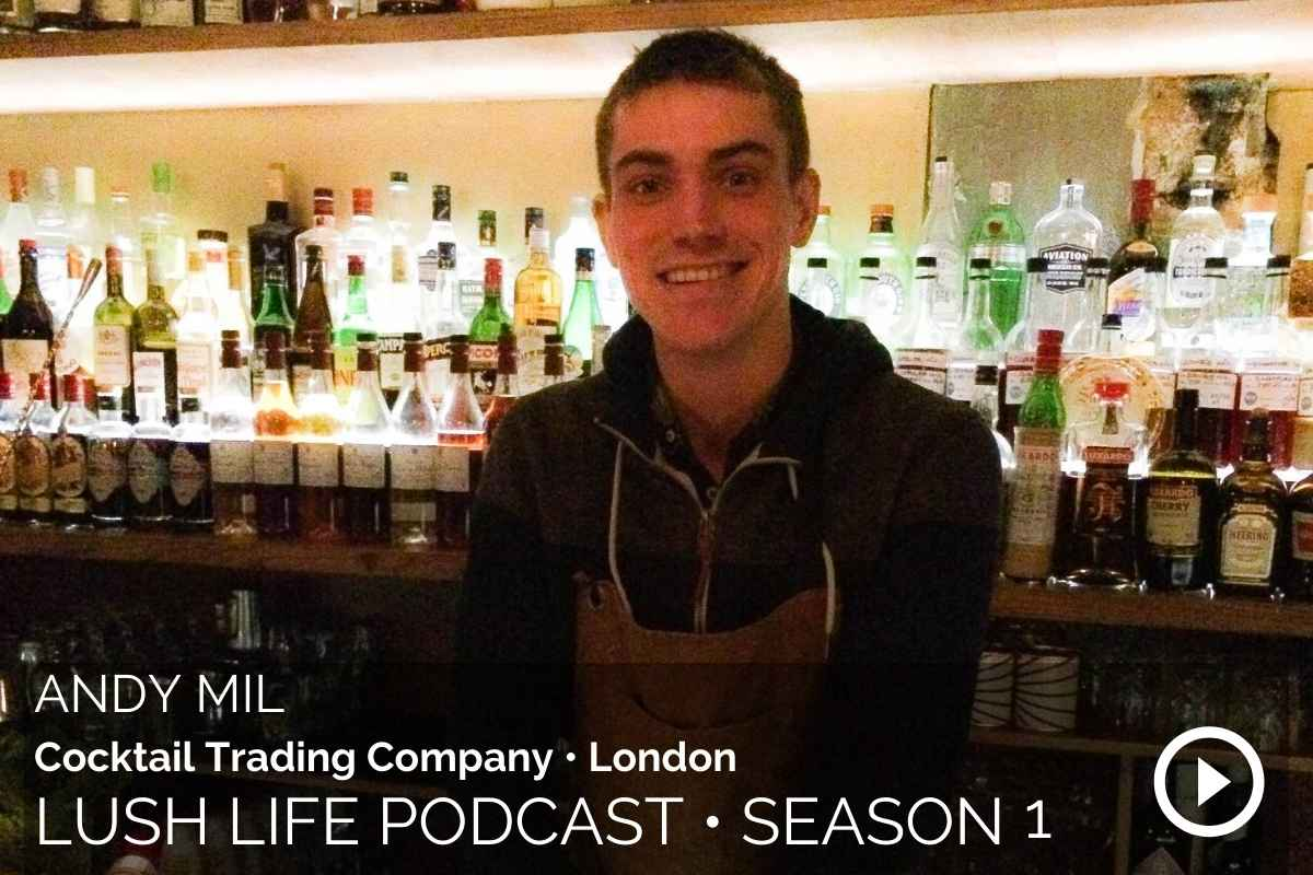 Andy Mil – The Cocktail Trading Company, London