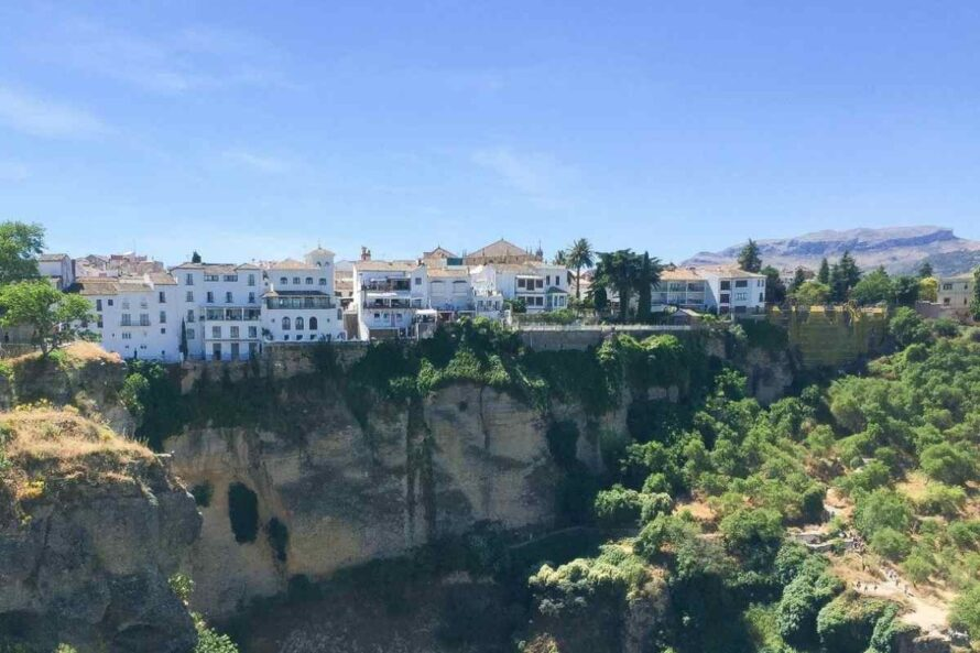A view of Ronda, Spain