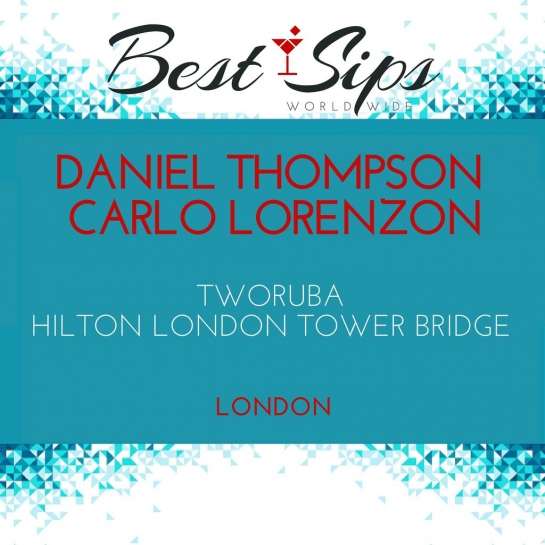 Daniel Thompson & Carlo Lorenzon - TwoRuba, Hilton London Tower Bridge Libsyn