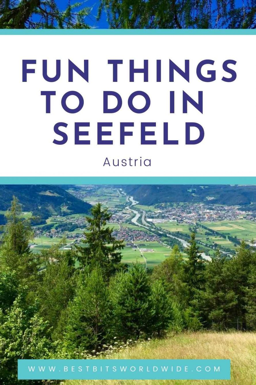 Fun Things to do in Seefeld - Pinterest