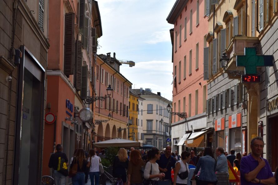 Strada-Farini-Parma-Italy