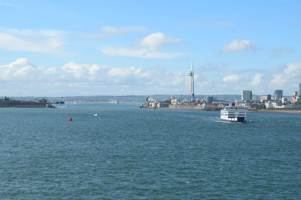 London to the Isle of Wight by Ferry!