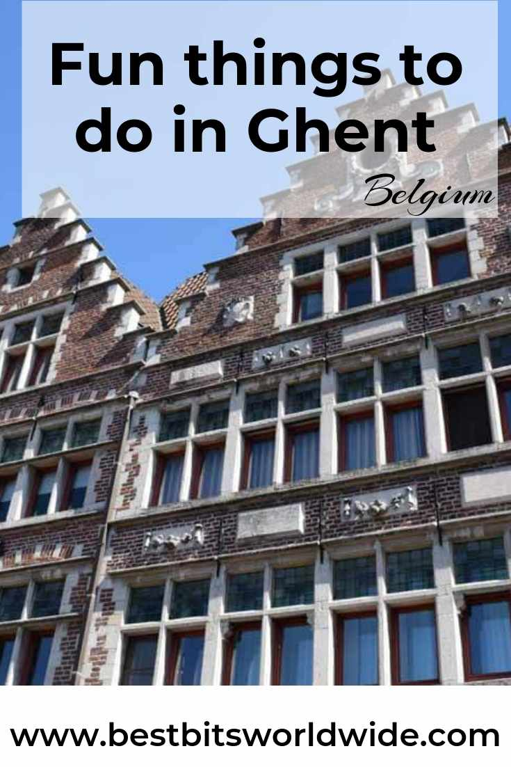 Fun Things to Do in Ghent Belgium - Pinterest