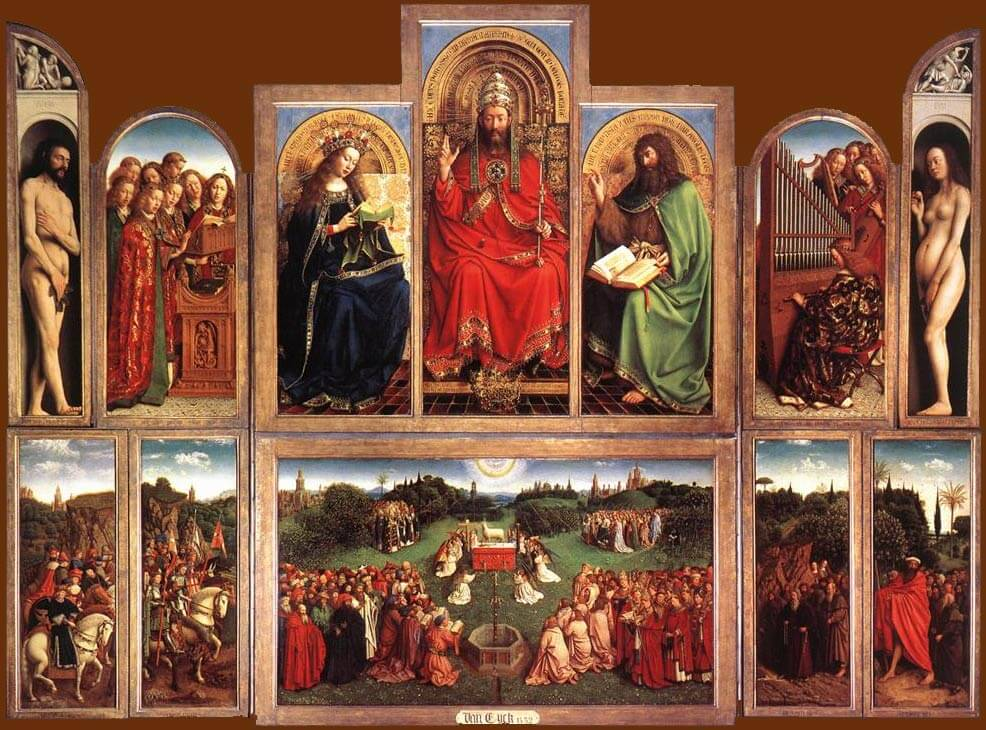 Fun things to do in Ghent, Belgium - Van Eyck, Adoration of the Mystic Lamb
