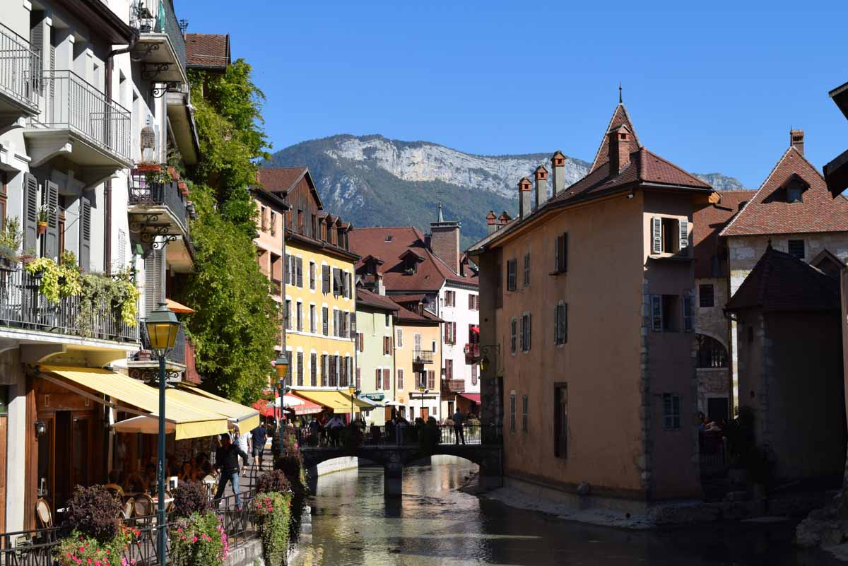 Annecy Canals, Savoie Wine Region, France