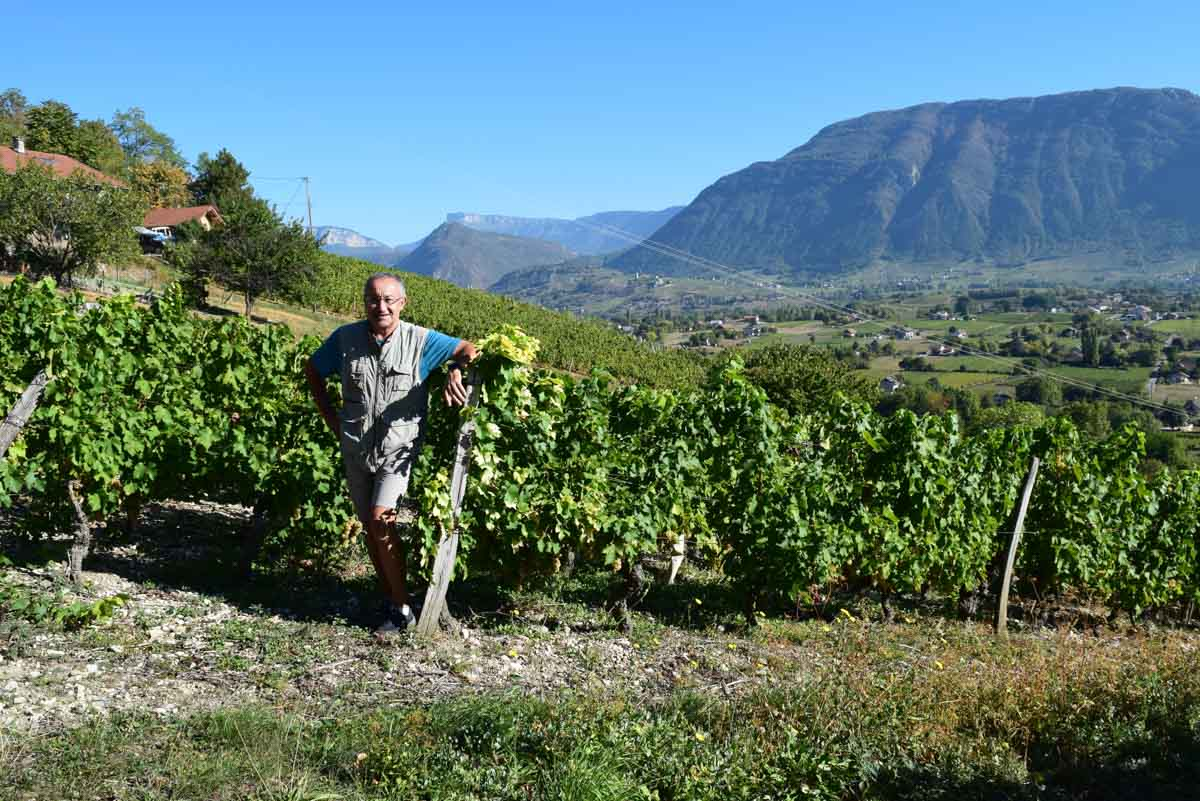 Bernard Vissoud, Savoie Wine Region, France