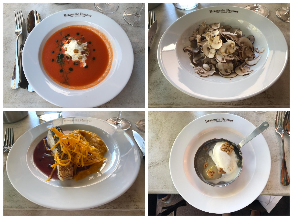 Brasserie Brunet Lunch, Annecy, Savoie Wine Region, France