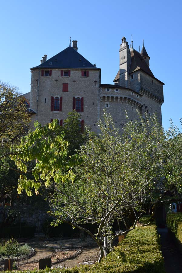 Chateau de Menthon, Savoie Wine Region, France