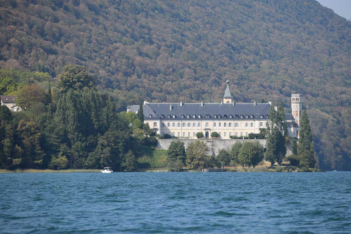 Hautecombe Abbey, Savoie Wine Region, France