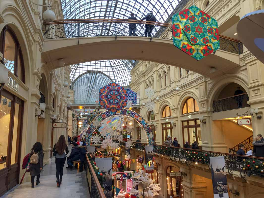 GUM, Moscow, Russia