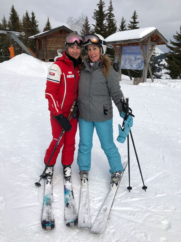 Skiing in Morzine, France - Skiing with Madeline