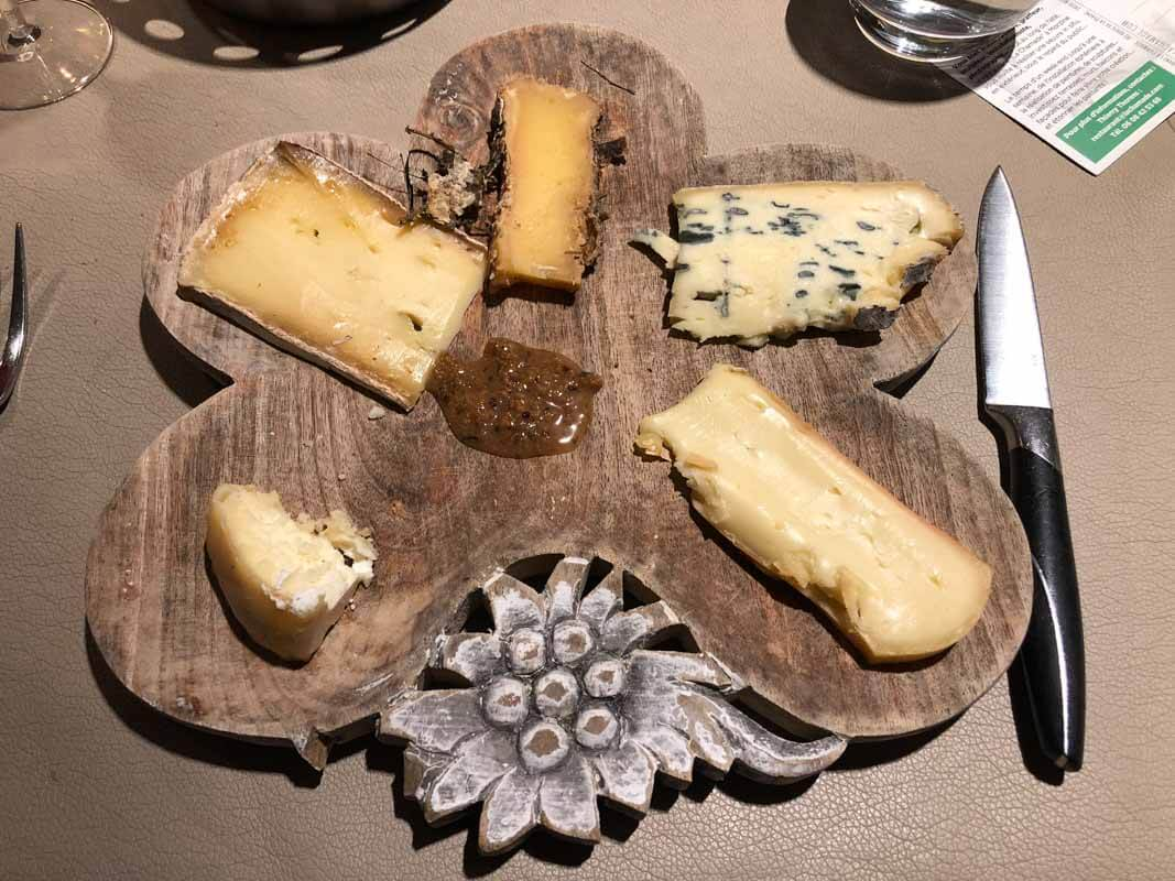 Skiing in Morzine, France - Cheese Room 1, La Chamade-my plate